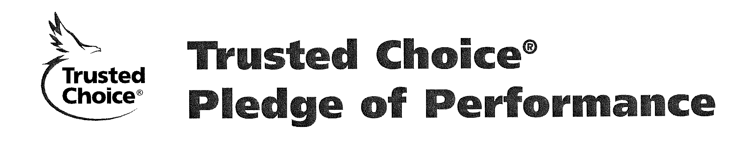 Trusted Choice pledge of performance badge