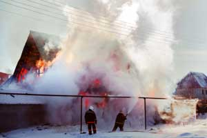 accidental home fire caused by lack of maintenance or care