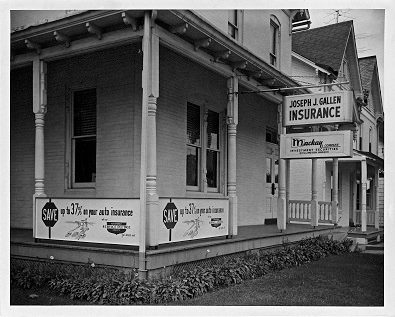 Gallen Insurance office 60 years ago!
