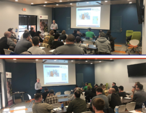 OSHA Safety Course recap and thank you to our host, sponsor and attendees. For information on future OSHA training opportunities, contact Dan McDevitt.