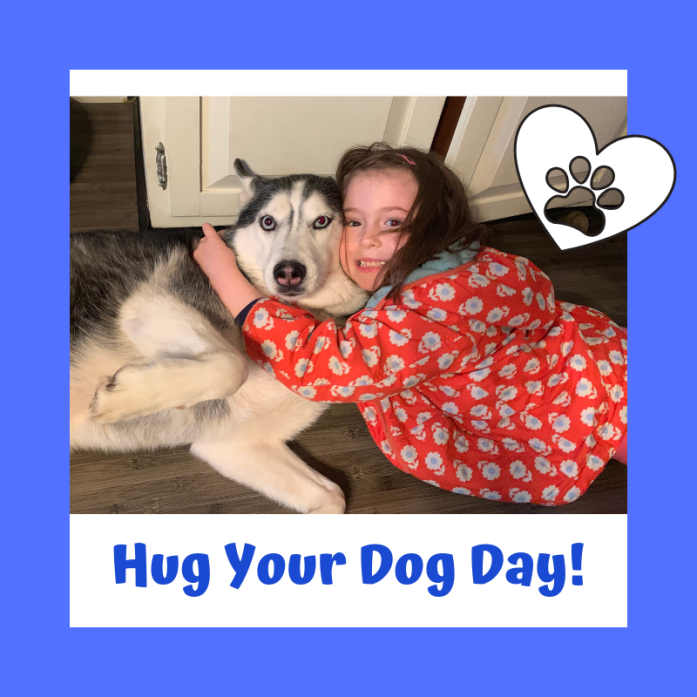 Today is National Hug Your Dog Day!!