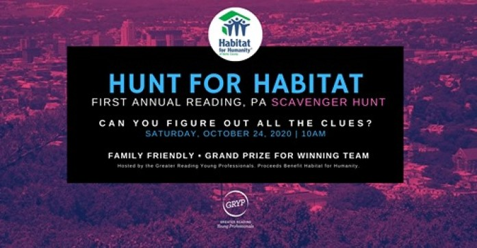 Greater Reading Young Professionals Hunt for Habitat