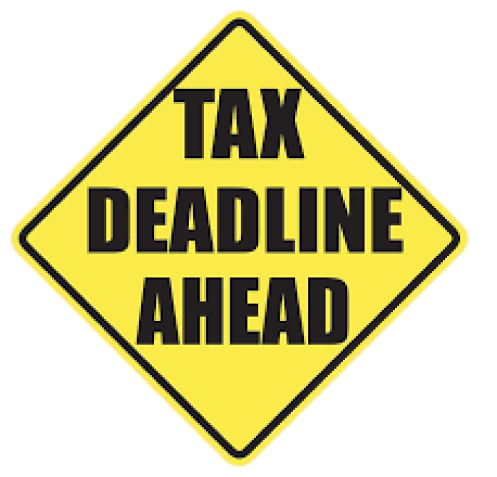 Tax Deadline Ahead