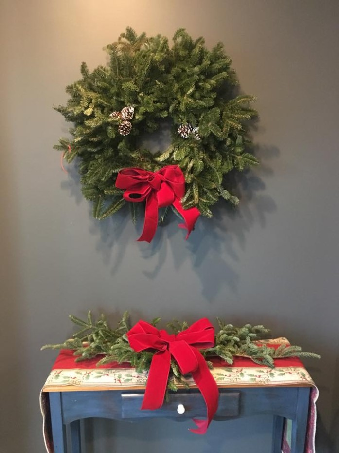 Tomorrow is the last day to order your wreaths and greens from the Waterfall Gardens sale!!