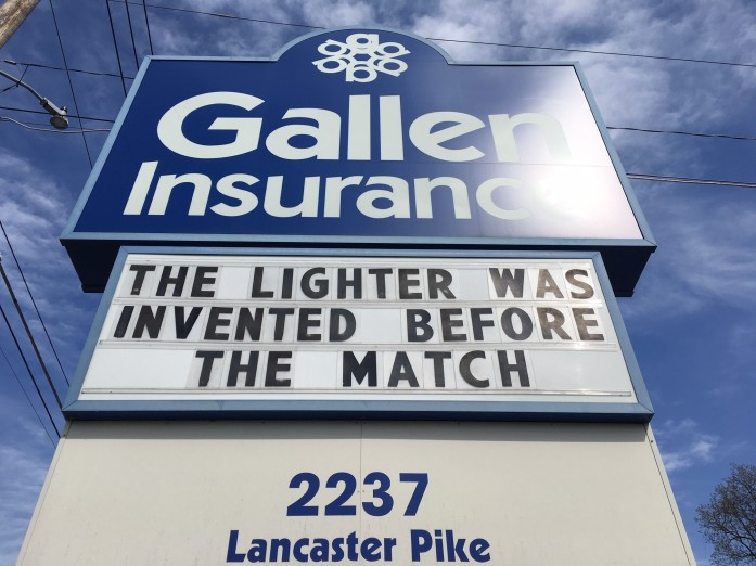 The lighter was invented before the match