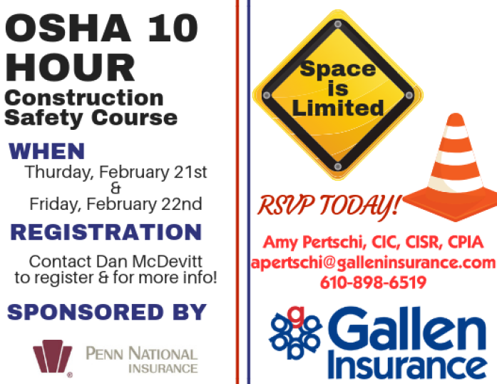 2020 OSHA 10 Construction Safety Course