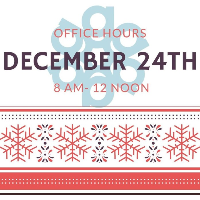 Gallen Insurance office hours for Wednesday, December 24, 2019 are from 8am - 12 noon