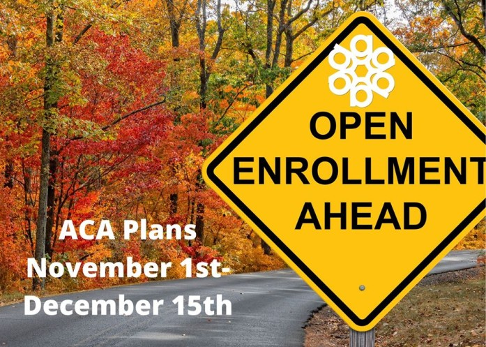 If you don't have health insurance or want to change your plan, open enrollment this year started on November 1, 2019 and runs through December 15, 2019.
