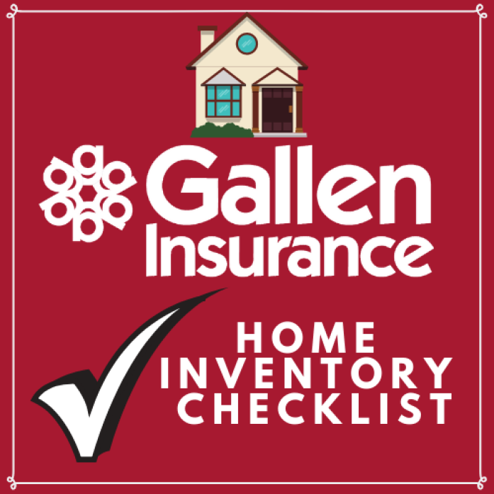 The information you place in your home inventory file can make insurance claim settlements faster and easier & help determine if you're adequately insured!