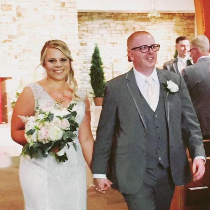 Congratulations Mr. & Mrs. McDevitt!