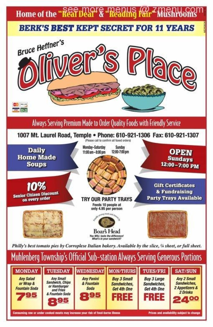 Oliver's Place