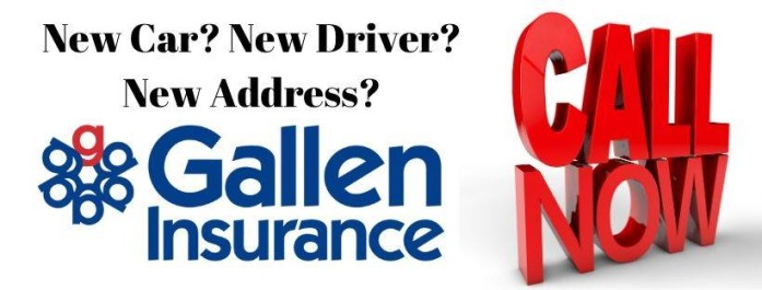 New car? New Driver? New address?....how about a New Roof? New Jewelry? There are many reasons you should give us call.
