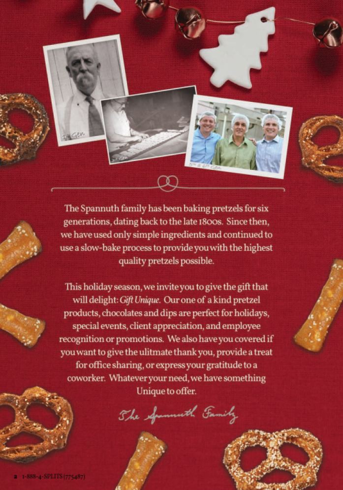 Business Spotlight: Unique Pretzels, a family owned business operating now for over six generations!