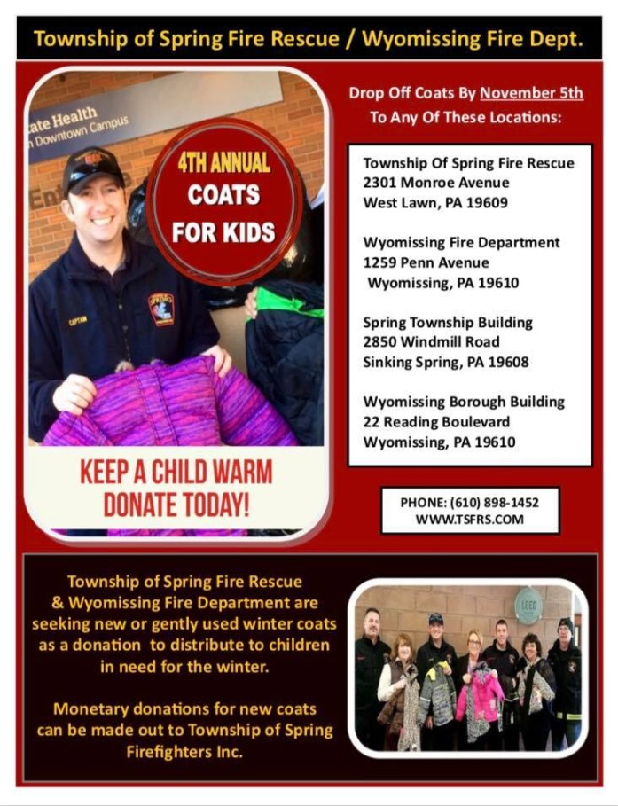 4th Annual Coats for Kids