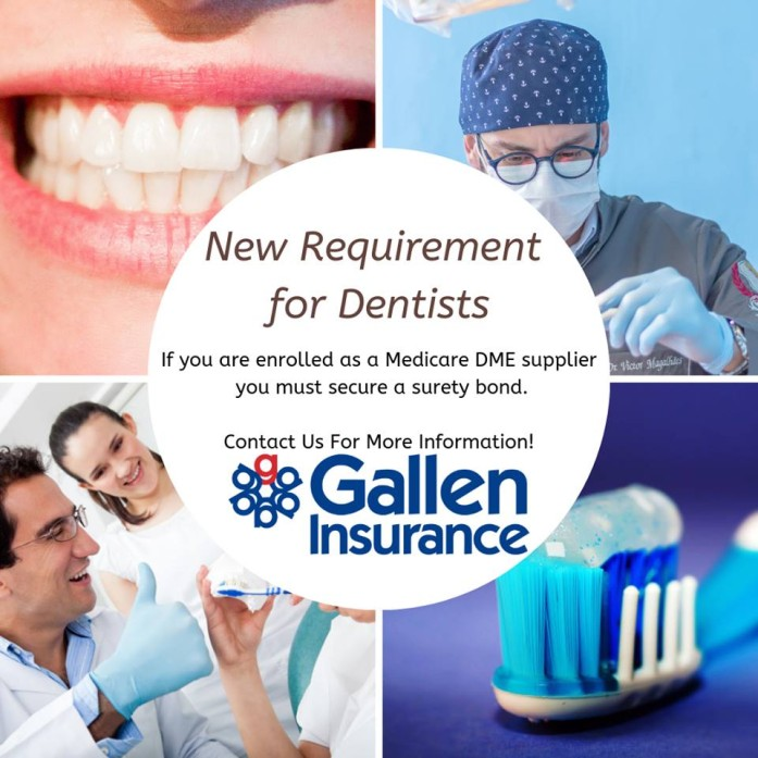 Attention Dentists!! There is a new Medicare Bond requirement for Dental Sleep Medicine professionals.