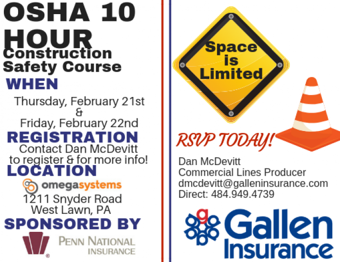 2019 OSHA 10 Hour Construction Safety Course