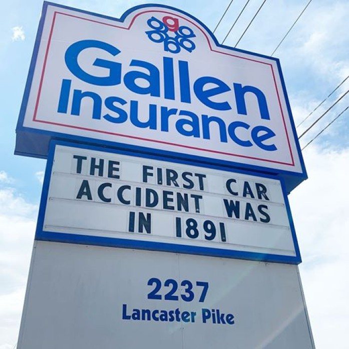 The First Car Accident was in 1891