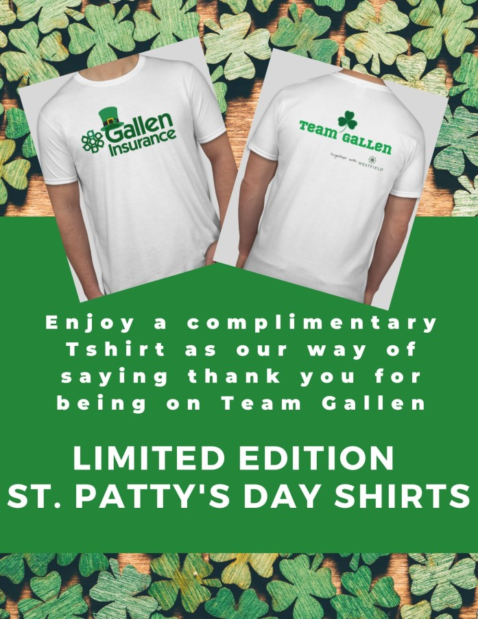Limited Edition St. Patty's Day Shirts