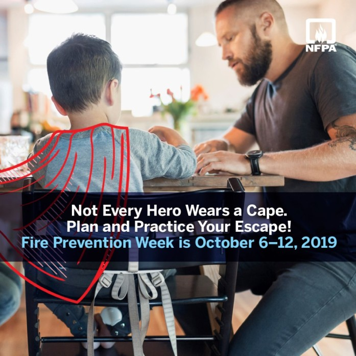 October 6th-12th is National Fire Prevention Week
