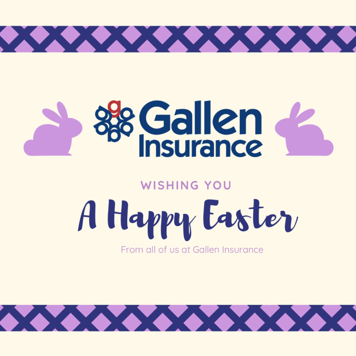 Happy Easter from Gallen Insurance