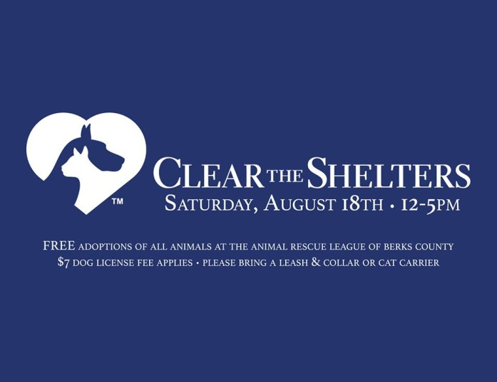 Animal Rescue League of Berks County - Clear the Shelters event