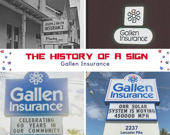 The Gallen Insurance sign recently received a new look! Over the years our sign has become an icon in our community.