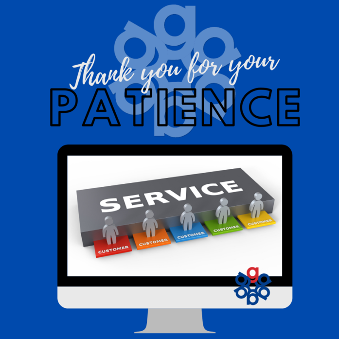 In order to better serve our customers, we will be migrating to a new, improved, client-focused software system during the month of March. Though our employees are being extensively trained prior to the new software launch, there may be slight delays & we ask you for your patience!