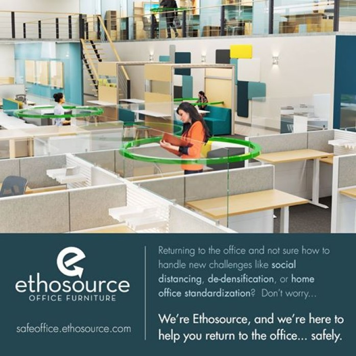 Ethosource can help you return to the office...safely!